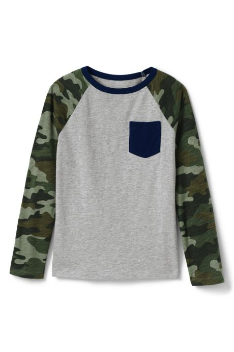Toddler Boys Slub Tee Shirt