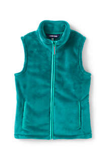 Girls Softest Fleece Vest, Front