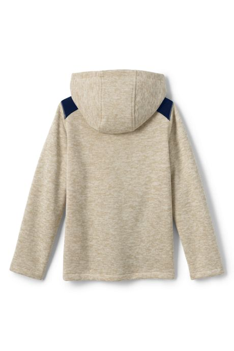 Toddler Boys Sweater Fleece Jacket