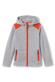 Boys Sweater Fleece Jacket, Front