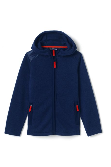 Boys Husky Sweater Fleece Jacket