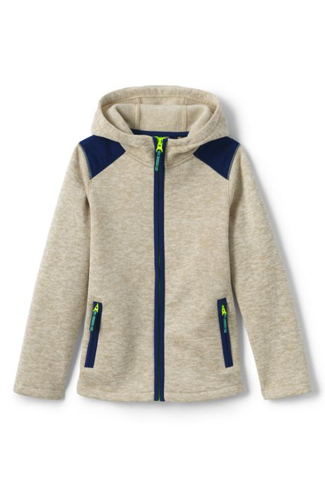 Little Boys Sweater Fleece Jacket