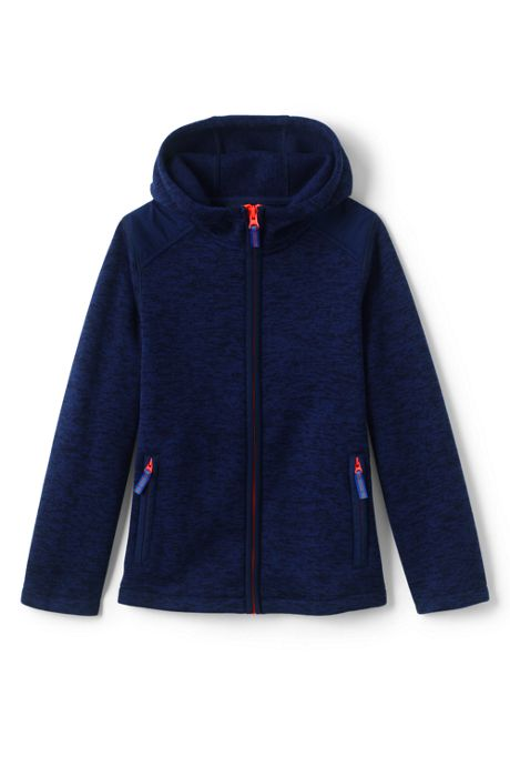 Toddler Boys Space-Dye Fleece Jacket