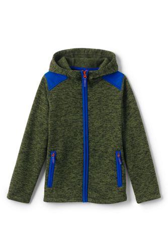 Boys' Sweater Fleece Jacket   Lands' End