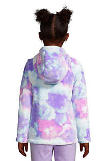 Girls Softest Fleece Jacket, Back