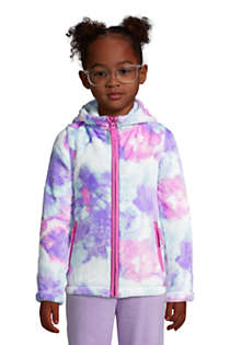 Girls Softest Fleece Jacket, Front