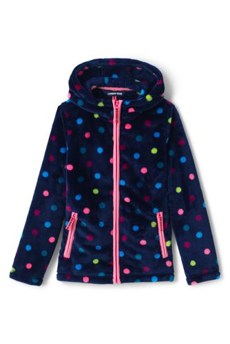 Girls' Patterned Softest Fleece Jacket