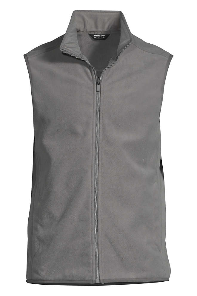 School Uniform Men's Marinac Fleece Vest, Front