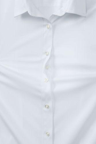 School Uniform Women's No Gape Short Sleeve Stretch Shirt