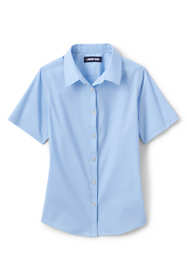 School Uniform Girls No Gape Short Sleeve Stretch Shirt