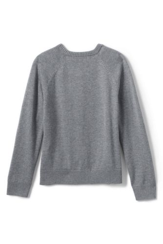 Girls Cotton Modal Cardigan Sweater