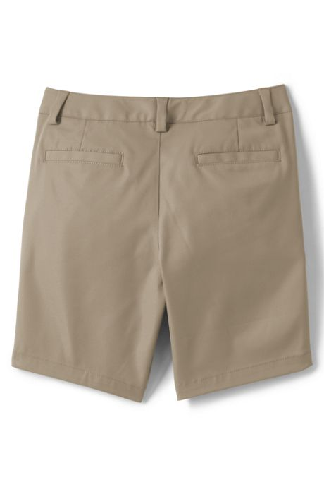 School Uniform Little Girls Active Chino Shorts
