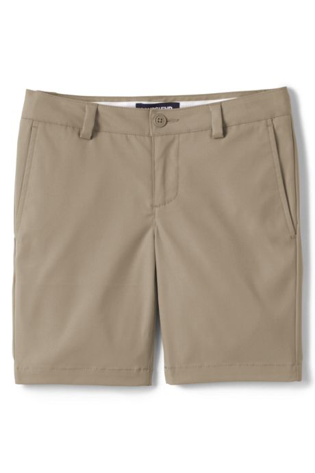 Little Girls Active Chino Shorts