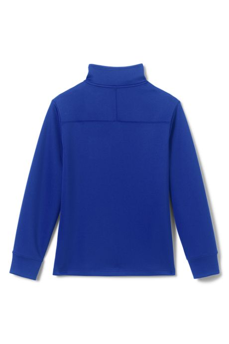 School Uniform Kids Quarter Zip Pullover
