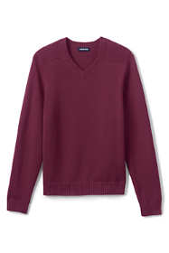 School Uniform Men's Cotton Modal V-neck Sweater