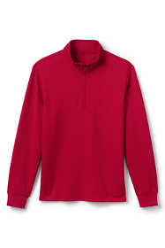 School Uniform Men's Quarter Zip Pullover
