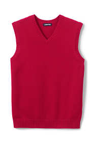 School Uniform Men's Cotton Modal Sweater Vest