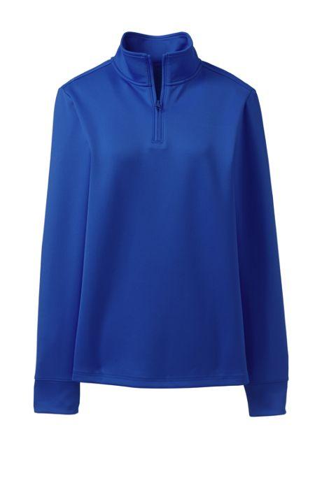 School Uniform Women's Quarter Zip Pullover