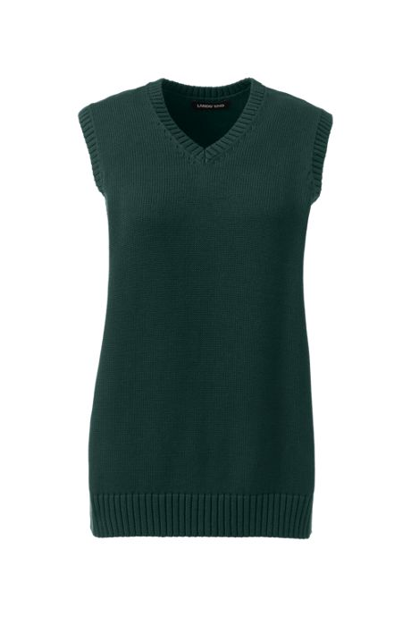 School Uniform Women's Cotton Modal Sweater Vest