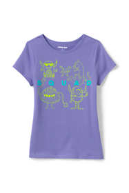 Girls Plus Size Graphic Tee Shirt