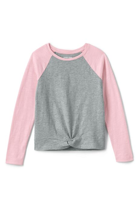 Girls Knot Front Top