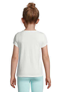 Girls Graphic Tee Shirt, Back