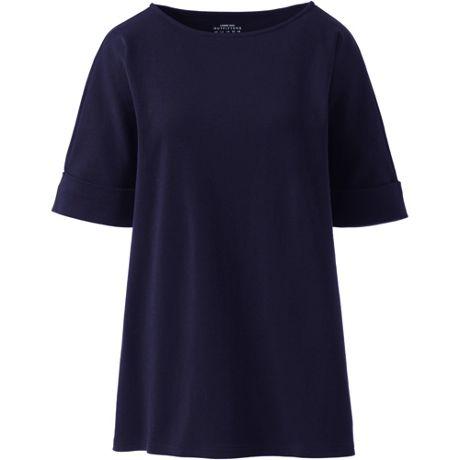 Maternity Cotton Polyester Short Sleeve Shirt