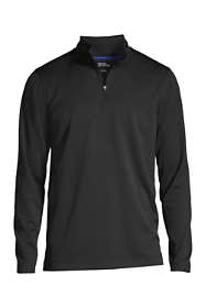 School Uniform Men's Textured Quarter Zip Pullover