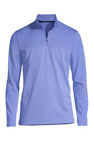 Men's Textured Quarter Zip Pullover