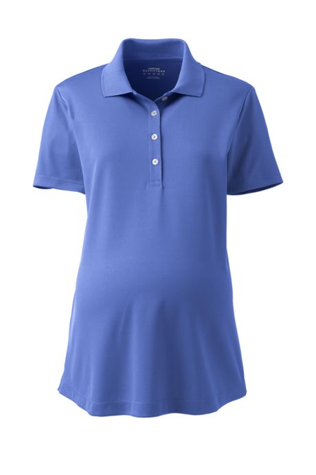 Maternity Active Solid Polo