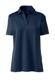 Women's Short Sleeve Rapid Dry Sport Neck Polo Shirt