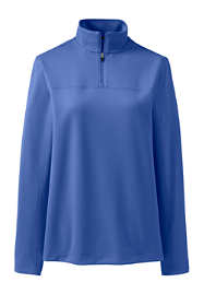 Women's Textured Quarter Zip Pullover