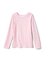 Girls' Long Sleeve Print Jersey T-shirt