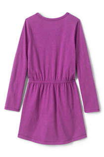 Little Girls Cinched Waist Dress, Back