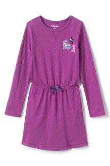 Jerseykleid mit elastischem Kordelzug fürMädchen