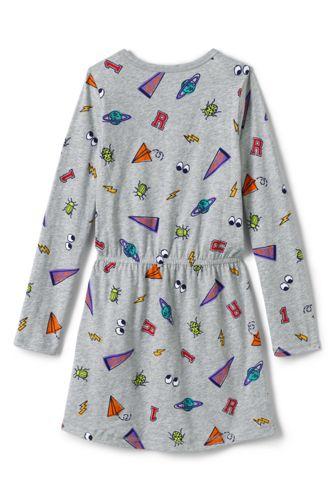 Girls Plus Size Cinched Waist Dress
