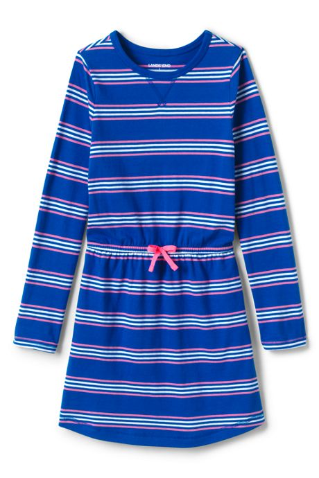 Toddler Girls Fit & Flare Pattern Dress