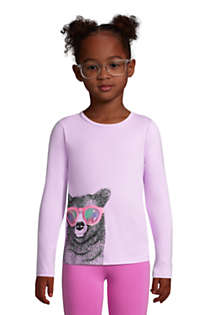 Girls Plus Size Graphic Tee Shirt, Front