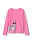 T-Shirt Graphique à Paillettes Réversibles, Petite Fille