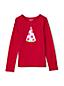 Shirt Langarm mit Wendepailletten für kleine Mädchen