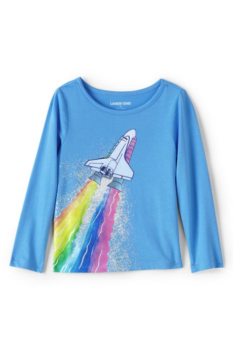 Toddler Girls Graphic Tee Shirt