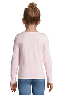 Little Girls Graphic Tee Shirt, Back