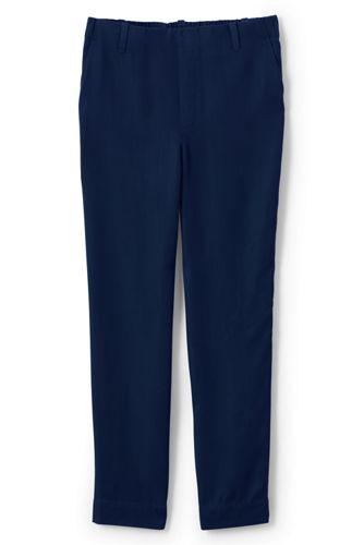 Pantalon Droit en Lyocell, Femme Stature Standard