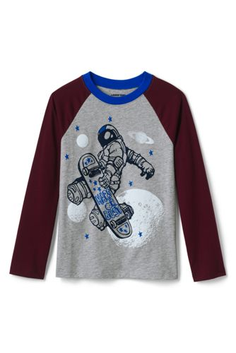 Boys' Raglan Graphic Tee