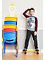 Grafik-Langarmshirt mit Raglanärmeln für große Jungen