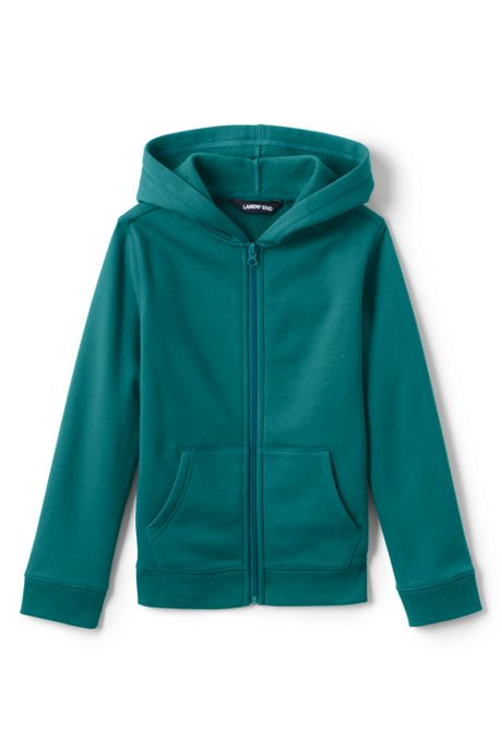 School Uniform Kids Husky-Plus Fleece Zip Hoodie