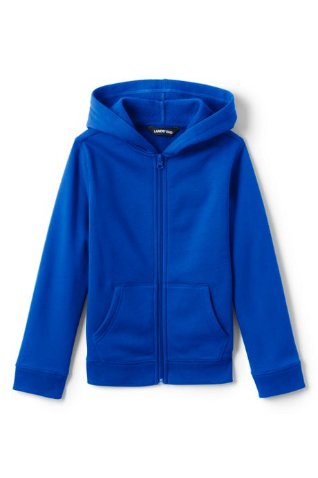 School Uniform Toddler Kids Fleece Zip Hoodie