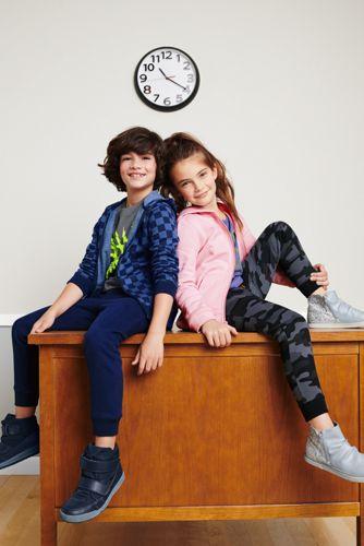 Kids Husky-Plus Fleece Zip Hoodie