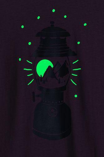 Boys Husky Glow In the Dark Graphic Tee Shirt