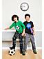 Grafik-Langarmshirt mit Wende-Pailletten für große Jungen